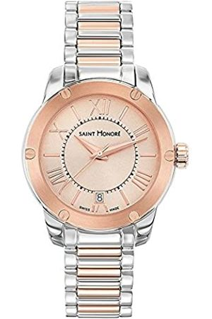 Saint Honore Women's Analogue Quartz Watch with Stainless Steel Strap 7511306LMRR