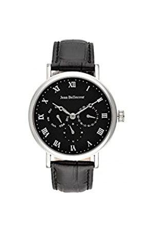 Jean Bellecour Unisex Adult Analogue Quartz Watch with Leather Strap JBN23