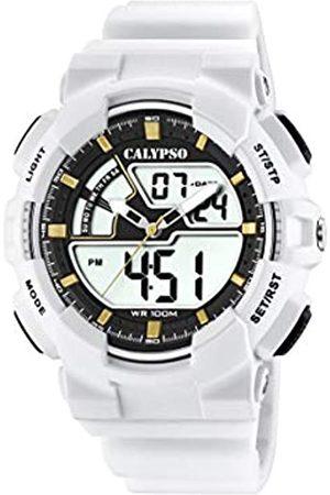 Calypso watches Mens Analogue-Digital Quartz Watch with Plastic Strap K5771/1