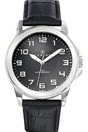 Certus Men's Quartz Watch Analogue Display and Leather Strap 610748