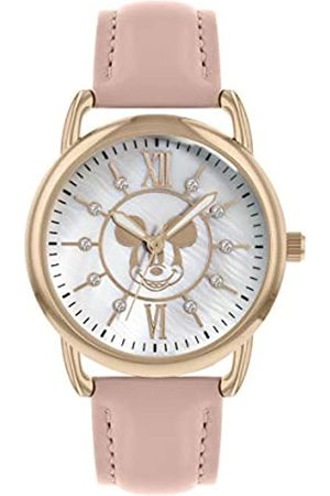 Mickey Mouse Unisex Adult Analogue Classic Quartz Watch with PU Strap MK5055