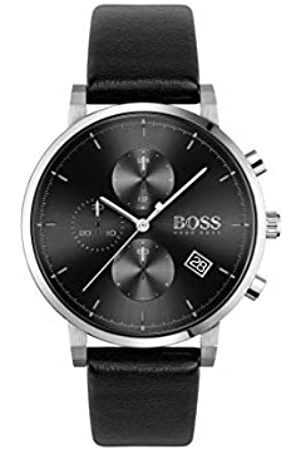 HUGO BOSS Men's Analogue Quartz Watch with Leather Strap 1513777
