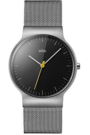 von Braun Men's Quartz Watch with Dial Analogue Display and Stainless Steel Bracelet