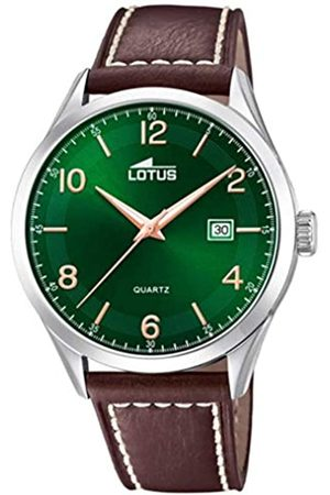 Lotus Mens Analogue Quartz Watch with Leather Strap 18634/2