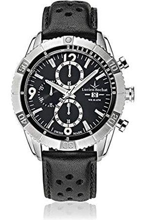 LUCIEN ROCHAT Mens Chronograph Quartz Watch with Leather Strap R0471603006