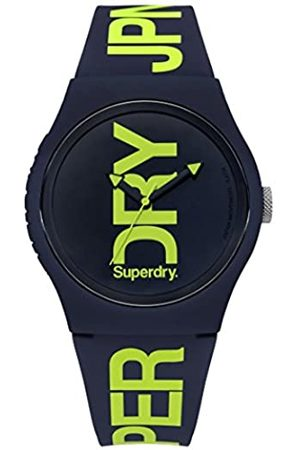 Superdry Men's Analogue Quartz Watch with Silicone Strap SYG189UN
