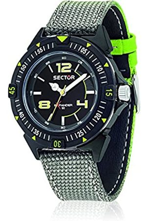 Sector No Limits Expander 90 Men's Quartz Watch with Dial Analogue Display and Nylon Strap R3251197046