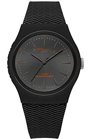 Superdry Mens Analogue Quartz Watch with Silicone Strap SYG184EE
