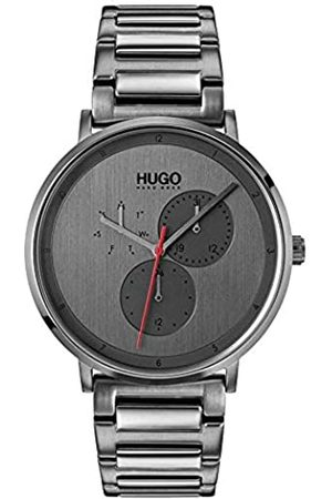HUGO Mens Multi dial Quartz Watch with Stainless Steel Strap 1530012