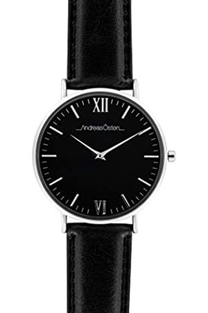 Andreas Osten Unisex Adult Analogue Quartz Watch with Leather Strap AO-89