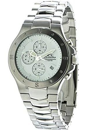 ChronoTech Mens Chronograph Quartz Watch with Stainless Steel Strap CT7251M-01