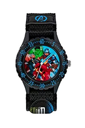 The Avengers Avengers Boys Analogue Quartz Watch with Textile Strap AVG5008