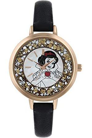 Disney Princess Womens Analogue Classic Quartz Watch with Leather Strap PN5045