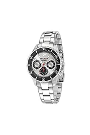 Sector No Limits Men's Multi dial Quartz Watch with Stainless Steel Strap R3253161012