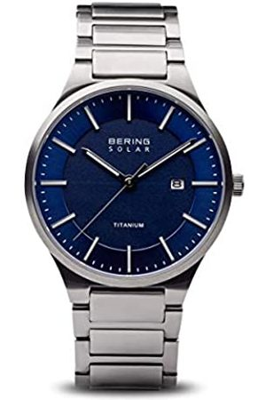 BERING Mens Analogue Quartz Watch with Titanium Strap 15239-777
