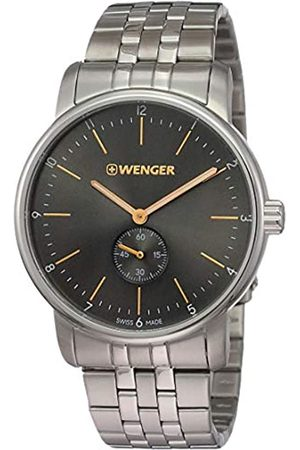 Wenger Unisex Analogue Quartz Watch with Stainless Steel Strap 01.1741.106