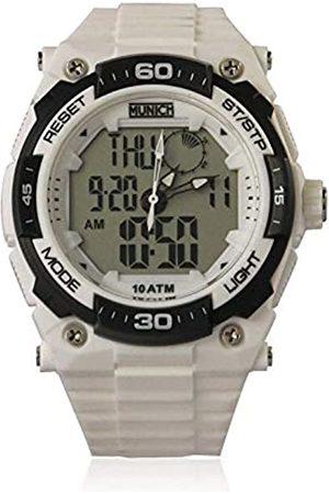 Munich Unisex Adult Digital Quartz Watch with PU Strap MU+107.7A