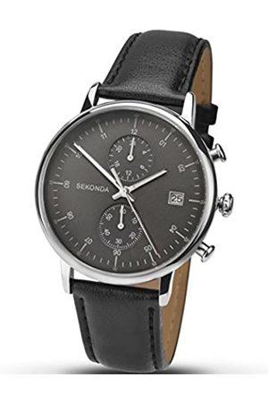 Sekonda Chronograph Gents Watch 1193 Dial Leather Strap