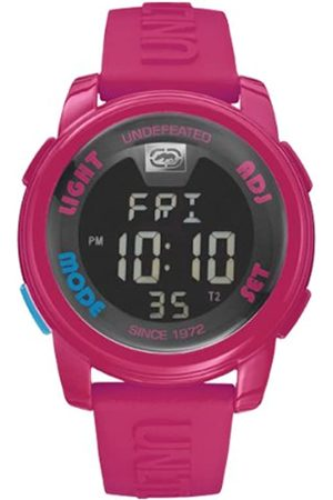 Marc Ecko Unisex Digital Watch with LCD Dial Digital Display and Silicone Strap E07503G8