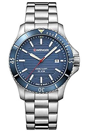 Wenger Men's Seaforce - Swiss Made Analogue Quartz Stainless Steel Watch 01.0641.120