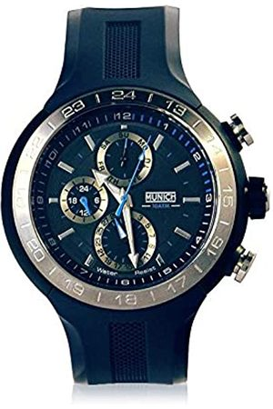 Munich Unisex Adult Analogue Quartz Watch with Rubber Strap MU+114.2A