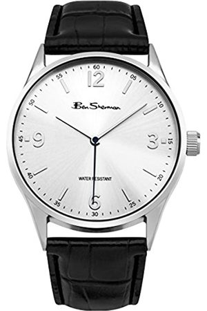 Ben Sherman Men's BS129 Quartz Watch with Dial Analogue Display and PU Strap