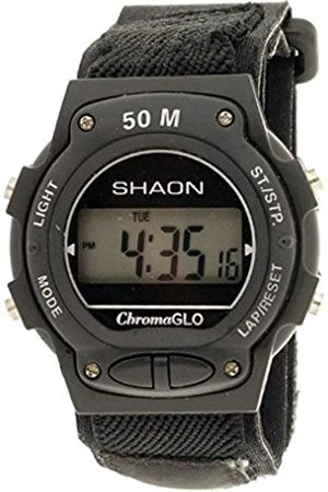 Shaon Men's Digital Quartz Watch with Nylon Strap 39-6023-44