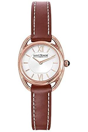 Saint Honore Women's Analogue Quartz Watch with Leather Strap 7210268AIR-BR