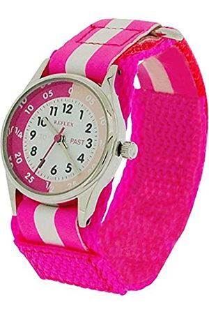 Reflex Girls Analogue Classic Quartz Watch with Textile Strap REFK0006