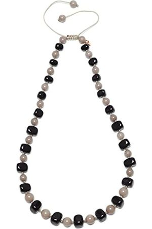 Lola Rose Mobi Black Agate Moon Quartzite Necklace