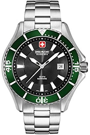Swiss Military Hanowa Mens Analogue Quartz Watch with Stainless Steel Strap 06-5296.04.007.06