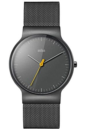 Braun Mens Analogue Classic Quartz Watch with Stainless Steel Strap BN0211TIMHG