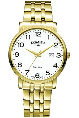 Roamer Men's Quartz Watch with Dial Analogue Display and Stainless Steel Bracelet 709856 48 26 70