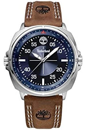 Timberland Mens Analogue Classic Quartz Watch with Leather Strap TBL.15516JS/03