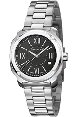 Wenger Women's Analogue Quartz Watch with Stainless Steel Strap 01.1121.109