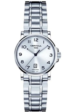 Certina Women's Analogue Watch XS Quartz Stainless Steel C017.210.11.032.00