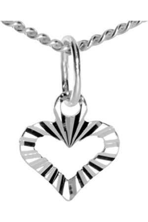 InCollections Women's and Children's Pendant 925/000 Sterling Silver with Curb Chain 45 cm 5410200015401