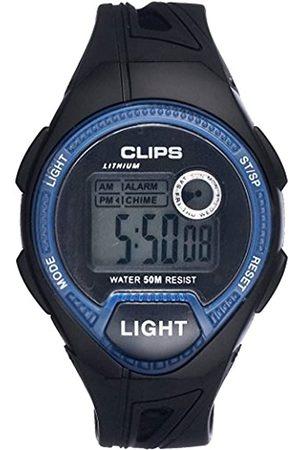 CLIPS Men's Quartz Watch 539-6004-94 with Rubber Strap