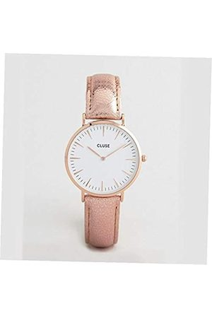Cluse Womens Analogue Quartz Watch with Leather Strap CL18030