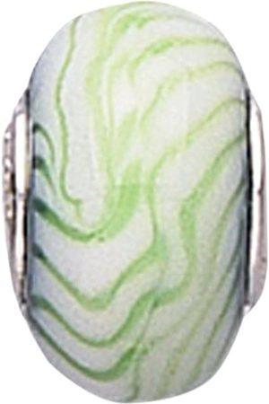 Jo Murano Glass Zig Zag Bead With Core