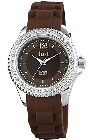 Just Watches Ladies 'Watch XS Analogue Quartz Rubber ~ 48 S3858 BR