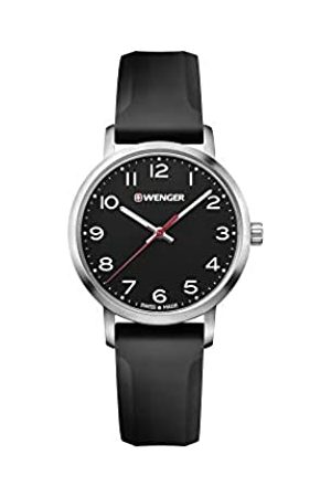 Wenger Women's Avenue - Swiss Made Analogue Quartz Stainless Steel Silicone Strap Watch 01.1621.101