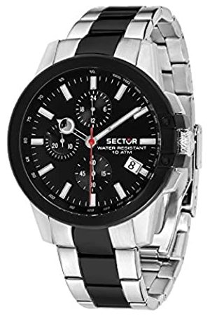 Sector Mens Chronograph Quartz Watch with Stainless Steel Strap R3273797002