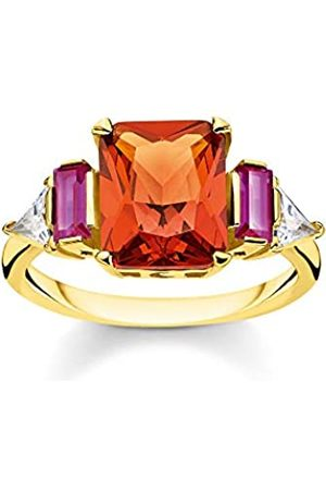 Thomas Sabo Women Vermeil Ring TR2262-488-7-48