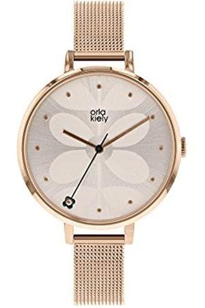 Orla Kiely Womens Analogue Classic Quartz Watch with Stainless Steel Strap OK4064