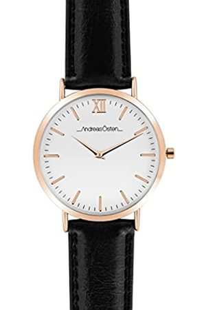 Andreas Osten Unisex-Adult Analogue Classic Quartz Watch with Leather Strap AO-03