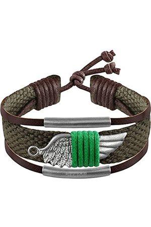 SECTOR GIOIELLI Men Stainless Steel Rope Bracelet - SALV05