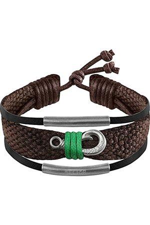 SECTOR GIOIELLI Men Stainless Steel Rope Bracelet - SALV01
