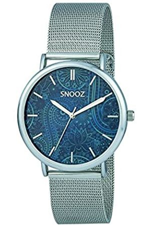 Snooz Men's Analogue Quartz Watch with Stainless Steel Strap Saa1042-71