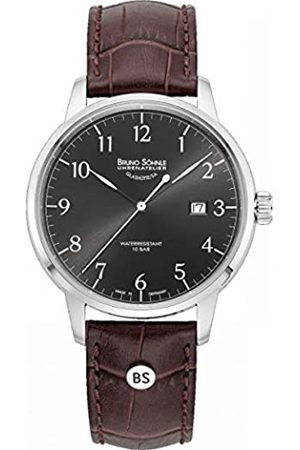 Bruno Söhnle Mens Quartz Watch with Real Leather Strap 17-13201-821
